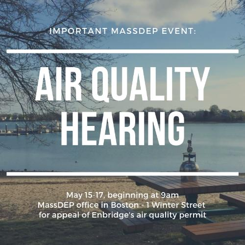 Air Quality Hearing, Weymouth Compressor Station, 5.15.19