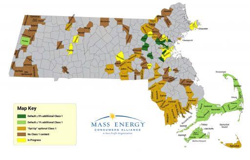 Mass Map CCAs by Class 1 content